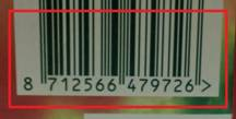 Código de barras, está disponível?
